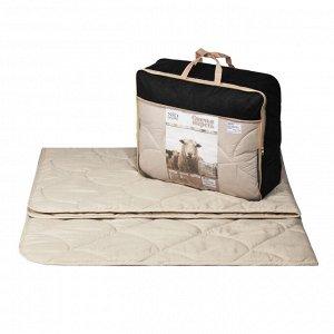 """Одеяло """"Овечья шерсть Soft"""" микрофибра 300г/м2 чемодан (размер: 172*205)"""