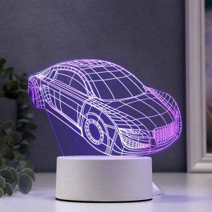 """Светильник """"Авто"""" LED RGB от сети 9,5x16x14 см"""
