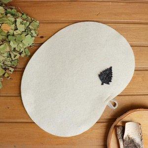 Набор для бани Пилот (шапка, коврик, мочалка)  Б32302