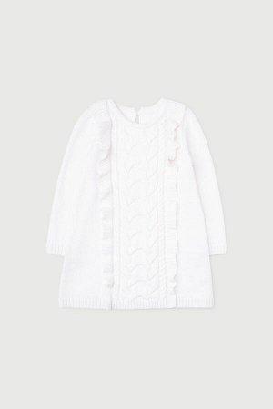 Платье(Осень-Зима)+girls (белый)