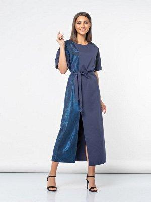 Платье (590/темно-синий)