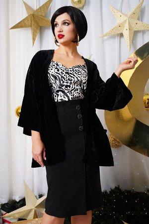 Юбка миди Рост: 164 см. Состав ткани: 60% п/э 38% вискоза 2% спандекс Юбка женская, зауженная книзу, с завышенной талией, на притачном поясе со шлевками. Верхний срез юбки обработан декоративными скла
