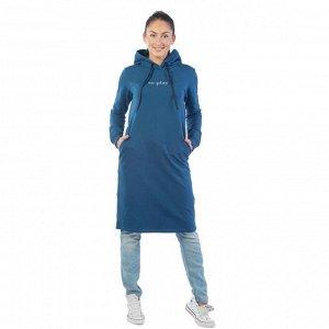 Платье из футера To play ФП1357П9 синий