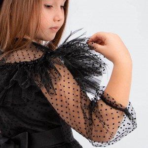 Платье Соль&Перец для девочки Цвет: черный