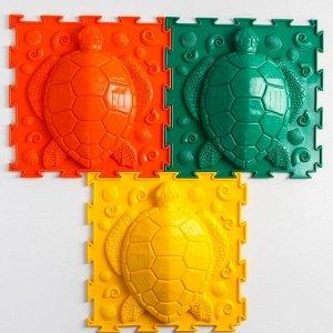 Массажный коврик 1 модуль «Орто. Черепашка», жёсткий, цвета МИКС