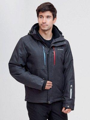 Горнолыжная куртка MTFORCE темно-серого цвета 2061TC