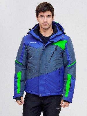Горнолыжная куртка MTFORCE голубой цвета 2071Gl