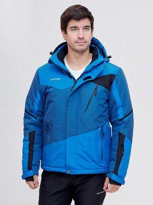 Горнолыжная куртка MTFORCE синего цвета 2071S