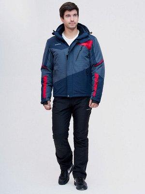 Горнолыжный костюм MTFORCE темно-синего цвета 02071TS
