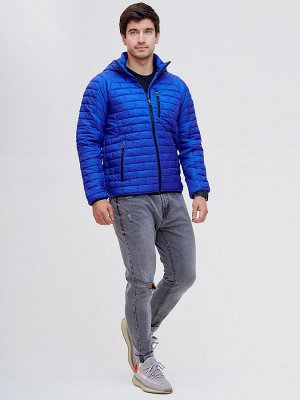 Куртка стеганная Valianly синего цвета 93349S