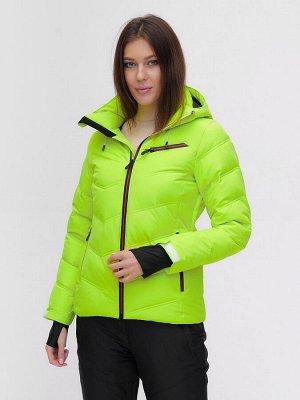 Горнолыжная куртка MTFORCE салатового цвета 2081Sl