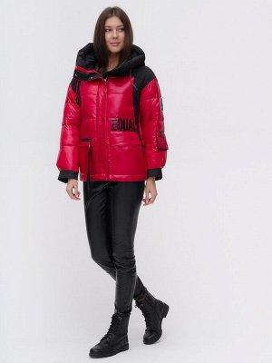 Куртка зимняя TRENDS SPORT красного цвета 22285Kr