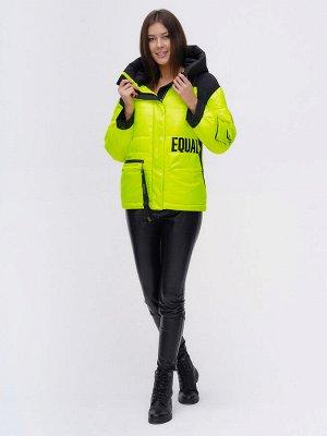 Куртка зимняя TRENDS SPORT салатового цвета 22285Sl