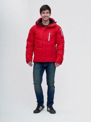 Куртка зимняя Valianly красного цвета 93139Kr