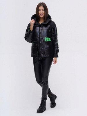 Куртка зимняя TRENDS SPORT черного цвета 22285Ch