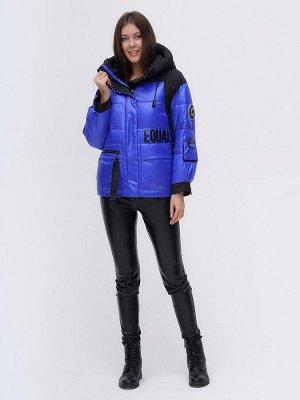 Куртка зимняя TRENDS SPORT синего цвета 22285S