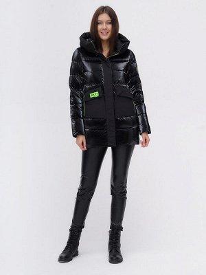 Куртка зимняя TRENDS SPORT черного цвета 22291Ch