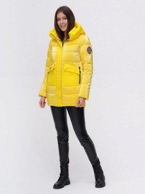 Куртка зимняя TRENDS SPORT желтого цвета 22291J