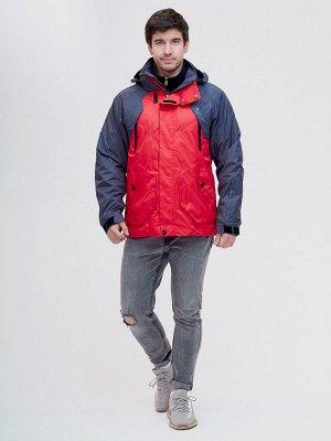 Куртка 3 в 1 Valianly красного цвета 12007Kr