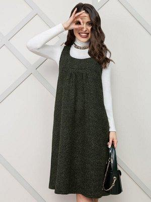 Сарафан Красота по-итальянски (в модном хаки)