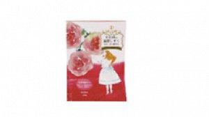 """Соль для принятия ванны """"Novopin Princess Bath time"""" с ароматом розовых лепестков (1 пакет 50 г) / бокс 12 шт / 144"""