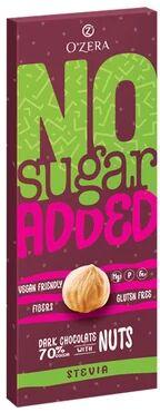 «OZera», горький шоколад No sugar added Dark&Nuts, 90 г