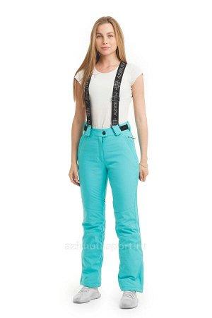 Женские брюки Azimuth В 9292_31 Бирюзовый