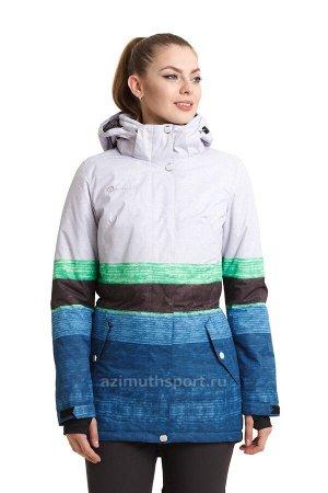 Женская куртка-парка Azimuth B 8410_75 Зеленый