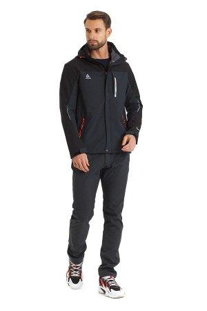 Мужская куртка-виндстоппер Azimuth A 8261_100 (БР) Темно-серый