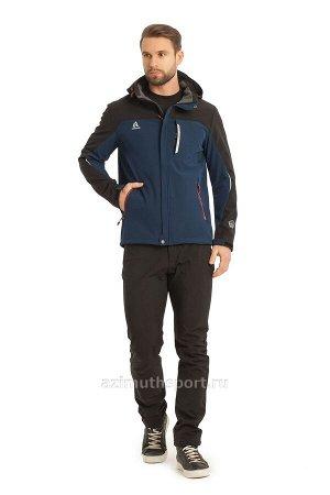 Мужская куртка-виндстоппер Azimuth A 8261_101 (БР) Темно-синий