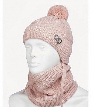 21-31-F (шапка+воротник) (48-50) Комплект