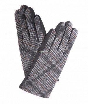 7.636-4 ML экозамша плис сенсорные жен. Перчатки