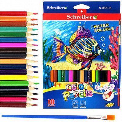 TUKZAR: Собираемся в школу/канцелярия от производителя — Цветные карандаши/фломастеры