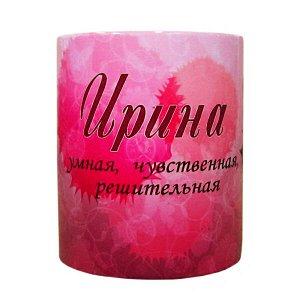 """Кружка с именем """"Ирина"""", 330мл"""