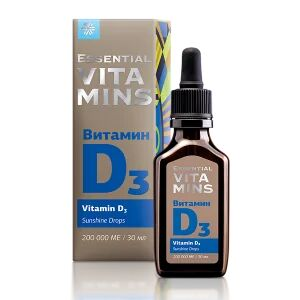 Витамин D3 - Essential Vitamins
