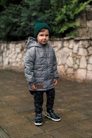Куртка Дино Рефлект серый камуфляж скидка