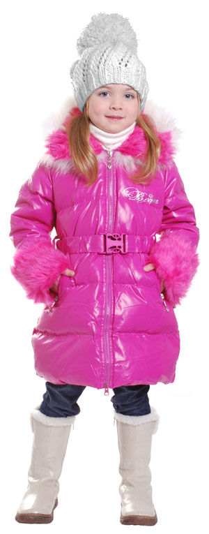Пальто-пуховик для девочки