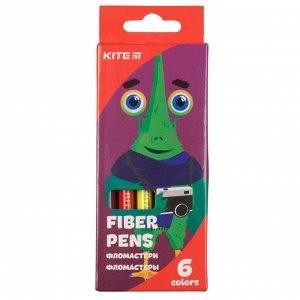 Фломастеры Kite Jolliers K19-046, 6 цветов