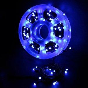 Светодиодная гирлянда  Синяя