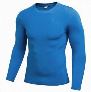 Мужская кофта, цвет голубой