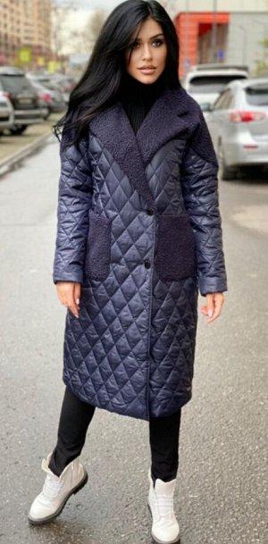 Пальто Пальто модели оверсайз стеганное