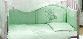 Бампер в кроватку РУЧЕЕК зел.