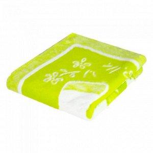 Одеяло Ермолино байковое, 140*100, цвет Лимон