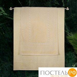 Полотенце махровое Cezar, 430 г/м2, молочное 50*90