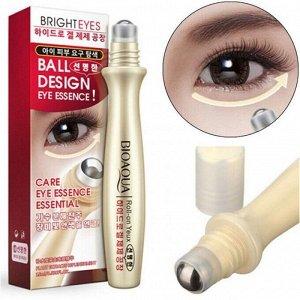 Роликовый аппликатор с увлажняющей сывороткой для кожи вокруг глаз