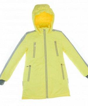 Пальто для девочек  1373 желтый