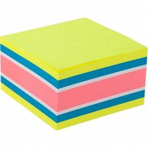 Блок бумаги с липким слоем Axent 2326-51-A, 75x75 мм, 450 листов, неоновые цвета