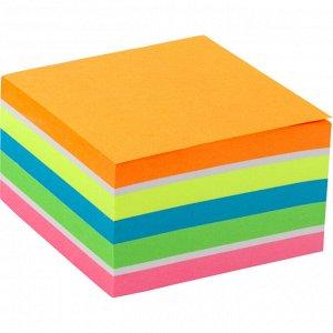 Блок бумаги с липким слоем Axent 2326-53-A, 75x75 мм, 450 листов, неоновые цвета