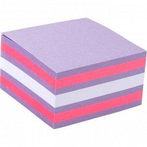 Блок бумаги с липким слоем Axent 2326-63-A, 75x75 мм, 450 листов, неоновые цвета