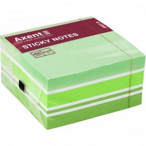 Блок бумаги с липким слоем Axent 2327-71-A, 75x75 мм, 400 листов, пастельные цвета